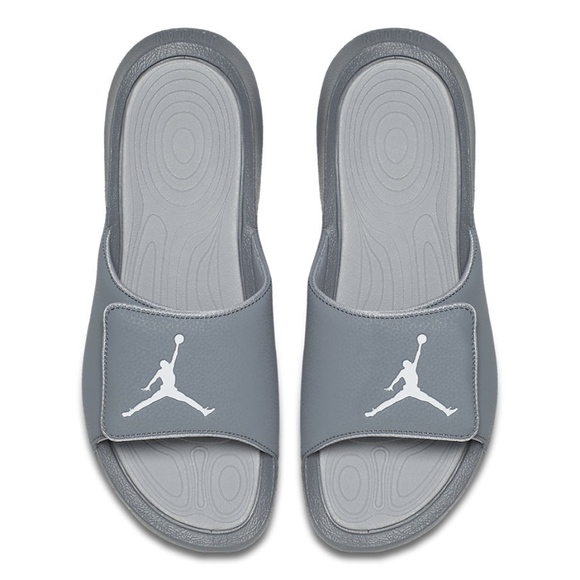 6d5638740b23 Nike JORDAN HYDRO 6 Men s Gray Slides Sandals